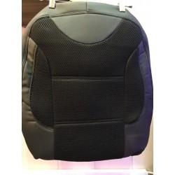 روکش صندلی رنو سیمبل - مشکی چرمی و پارچه ای